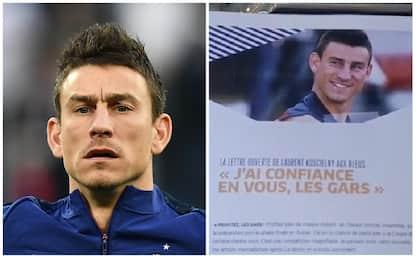 "Koscielny commuove la Francia: ""Sarò primo tifoso"""