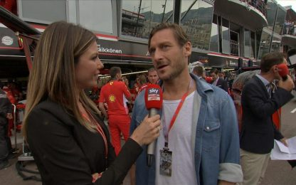 """Totti si propone: """"Se mi danno una Ferrari..."""""""