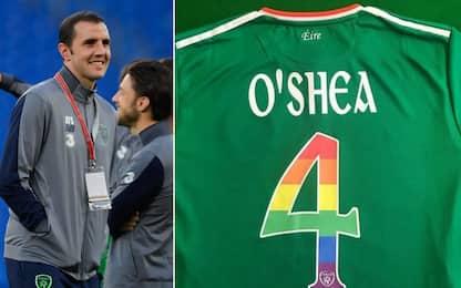"O'Shea, maglia speciale: ""Per le libertà sessuali"""