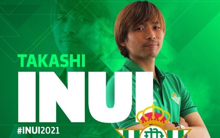 Takashi Inui, foto Twitter Real Betis