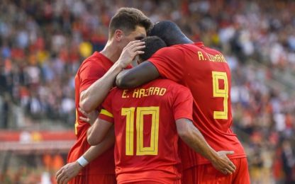 Belgio, tris all'Egitto. Perdono Panama e Nigeria