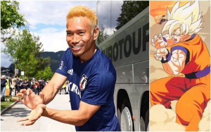 Nagatomo come Goku: mima l'onda energetica