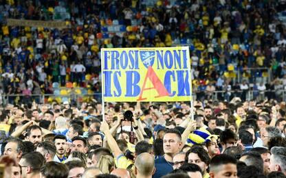 Frosinone in A, nervi e invasione: Palermo ko