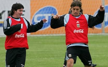 """Crespo: """"Messi non è Maradona, non vince da solo"""""""