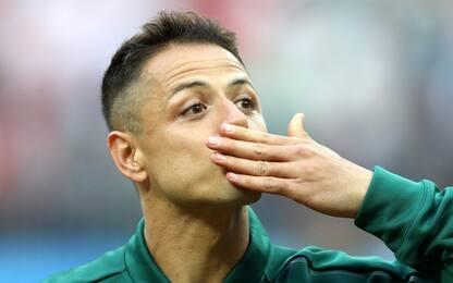 """Chicharito: """"Andare al Napoli? Mucha calma"""""""