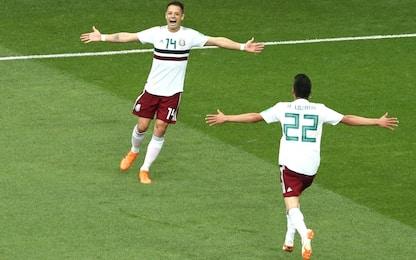 Il Messico vince ancora: 2-1 alla Corea del Sud