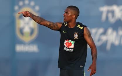 Brasile, Douglas Costa torna ad allenarsi