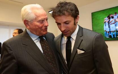 """Del Piero, auguri a Boniperti: """"Lei è leggenda"""""""