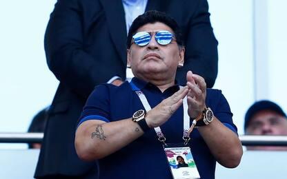 """Maradona attacca Zanetti: """"Vuole fare tutto lui"""""""