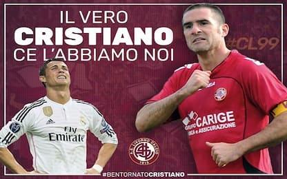 """Livorno: """"CR7? Il vero Cristiano ce l'abbiamo noi"""""""