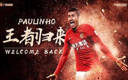 Paulinho torna al Guangzhou: al Barça 50 milioni
