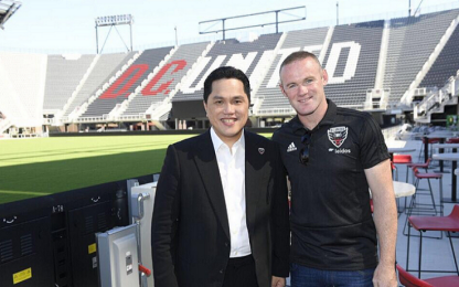 Thohir in America si gode Rooney e il nuovo stadio