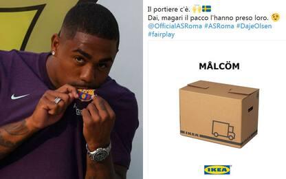 """Ikea consola la Roma: """"Magari Malcom è un pacco"""""""