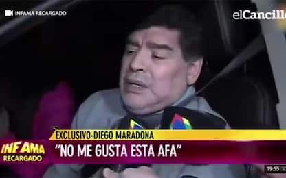 Maradona ubriaco in auto, l'intervista è virale