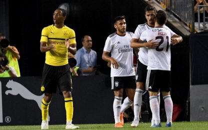 BVB, Philipp non basta: il Benfica rimonta e vince