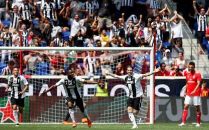 Magia Clemenza e poi rigori: Juve batte il Benfica