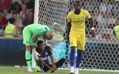 Spalletti cede a Sarri, Chelsea-Inter 6-5