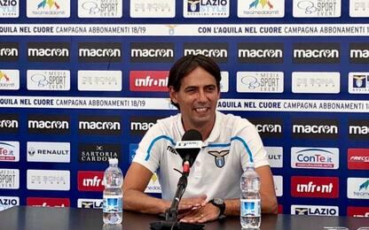 """Inzaghi: """"Milinkovic sereno, tutto può succedere"""""""