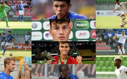 Europei Under 19, la top 11: quattro italiani