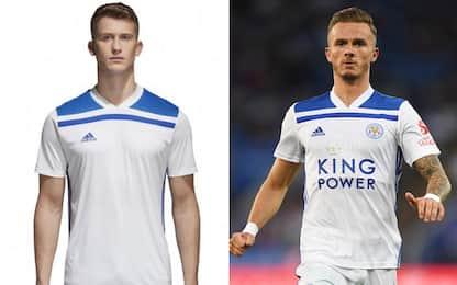 Gaffe Leicester, maglia identica al kit low cost