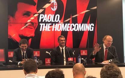"""Maldini: """"La mia storia impone di essere qui"""""""