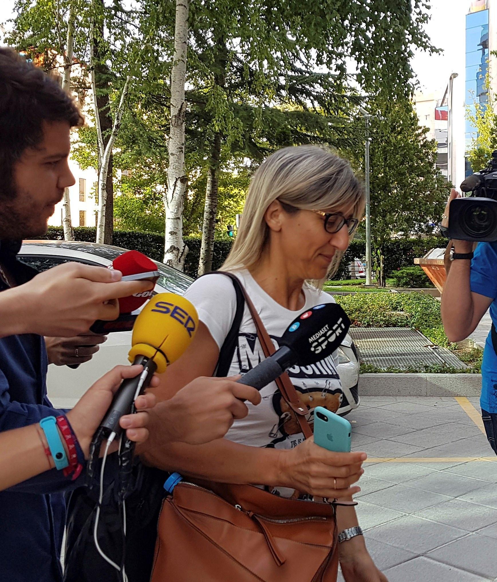 Margarita Garay, una dei rappresentanti di Kepa. Foto Lapresse