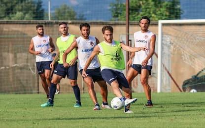Cosenza, allenamento in vista del Torino