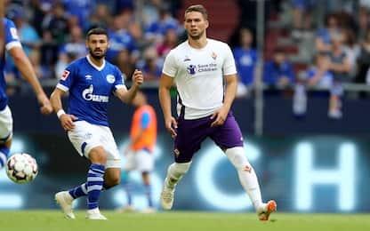 Pjaca, esordio amaro. Schalke 04-Fiorentina: 3-0