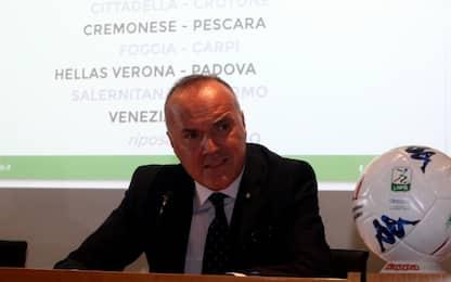 """Serie B, Balata: """"Si parte"""". Tommasi chiede rinvio"""