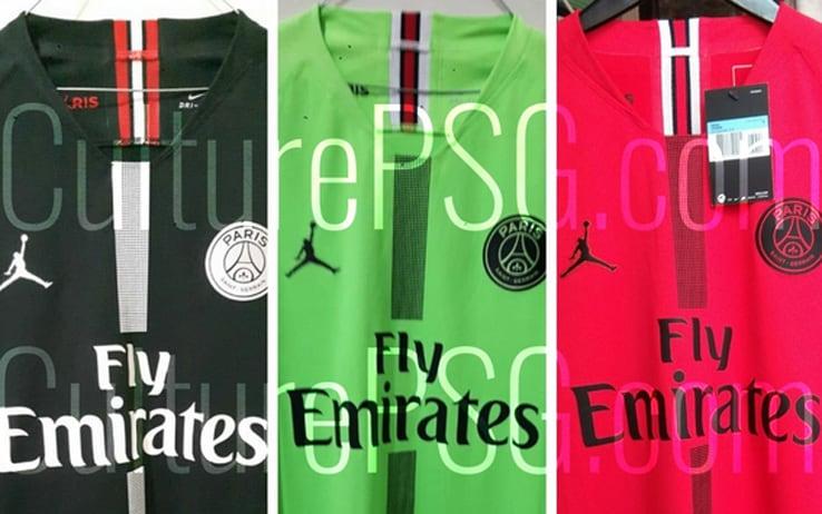 Paris Saint Germain maglia Jordan costo felpa Champions League