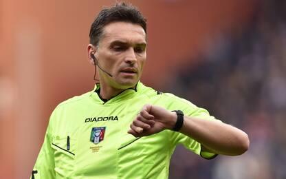 Arbitri: Milan-Juve a Irrati, Samp-Inter a Valeri