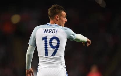 Inghilterra, Vardy annuncia l'addio alla Nazionale