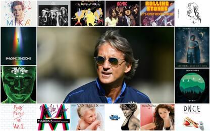 Mancini cambia stile: allenamento con la musica