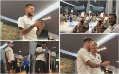 Buonumore Italia: i nuovi cantano in ritiro. VIDEO