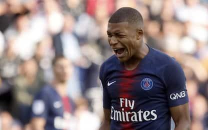 Mbappé paga caro, tre giornate per la reazione