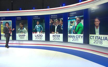 Mancini-story: le tappe della carriera del CT