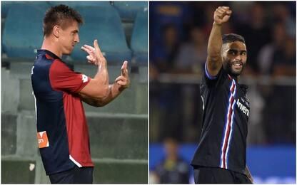 Defrel&Piatek, Genova torna città del gol