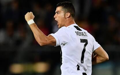 Cristiano Ronaldo, che gol contro l'Empoli