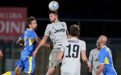 Carrarese-Juventus U23 4-0: in gol anche Tavano