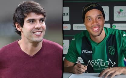 Il Monza vuole Kaká? A Pordenone ecco Ronaldinho!