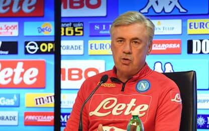 """Ancelotti: """"Insigne out. Barella è da Napoli"""""""
