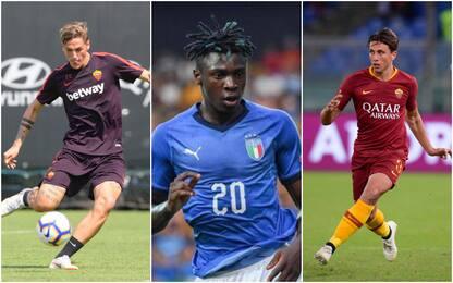 U21, prima chiamata per Zaniolo, Pellegrini e Kean