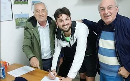"""Matano firma con il Carinola: """"Io come Borriello"""""""