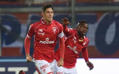 Melchiorri risponde a Okereke: Spezia-Perugia 1-1
