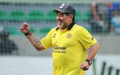 Maradona scatenato: altro show in Messico. VIDEO