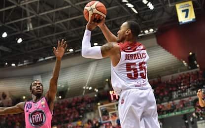 Basket, l'Olimpia fa 5 su 5: battuta anche Torino