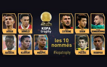 Trofeo Kopa, Cutrone e Gigio tra i migliori U21