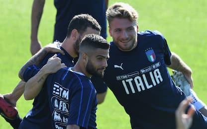 Italia, test a Coverciano aspettando la Polonia