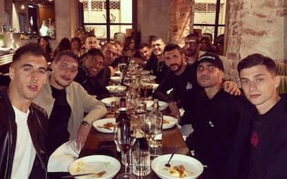 Torino, cena di squadra in vista di Bologna