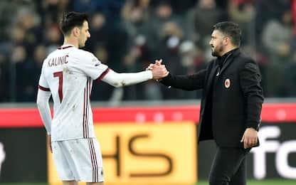 "Kalinic: ""Gattuso è pazzo, con lui grande Milan"""